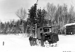 Tractor, Camp Siskiwit, ca. 1938: [NVIC: 30-218], ISRO Archives.