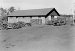 Service Building, Camp Siskiwit, August 1938: Kieley, [NVIC: 30-143], ISRO Archives.