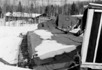 Collapsed CCC Barracks, Camp Siskiwit, March 27, 1939: L.J. Baranowski, [NVIC: 30-184], ISRO Archives.