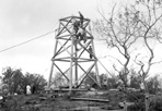 Mt. Ojibway Tower Construction, ca. 1939: [NVIC: 30-293], ISRO Archives.