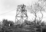 Mt. Ojibway Tower Construction (#332), Mount Ojibway, ca. 1930: [NVIC: 30-293], ISRO Archives.