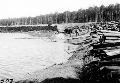 Mead Logging Operations, 1935: [NVIC-30-001], ISRO Archives.