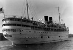 SS South American, ca. 1945: [NVIC: 40-352], ISRO Archives.